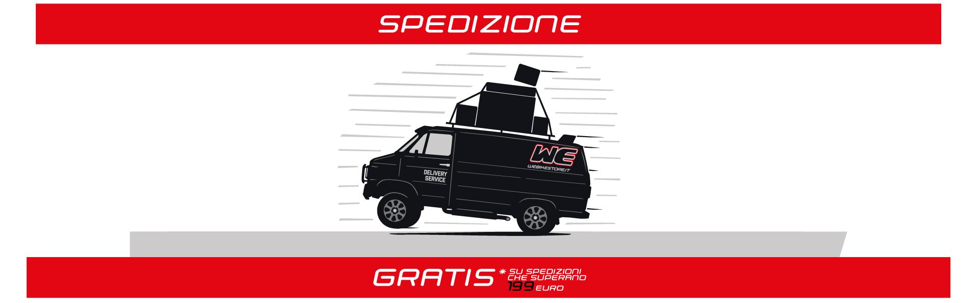Sorry only Italy spedizione gratuita